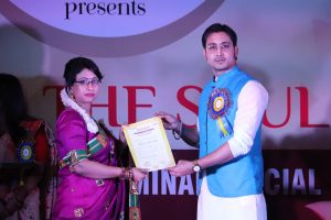 Honouring my students with certificates